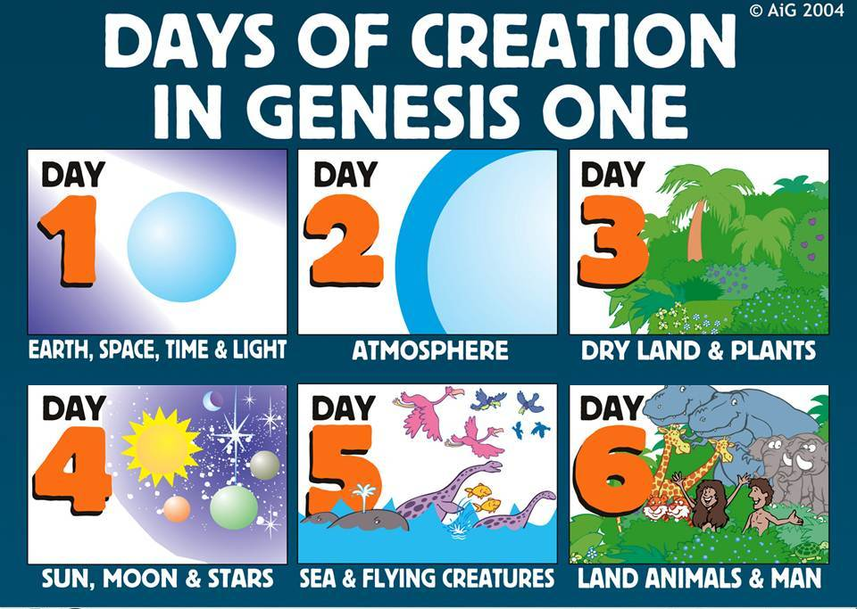 a discussion of the creation story in genesis 1 2 Genesis chapters 1 and 2 fully complement each other and are not two  contradictory creation stories rather, they form a logical,.