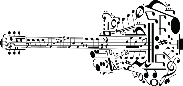 Guitar-music-notes